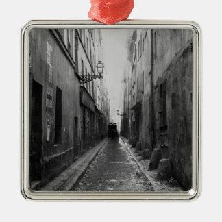 Rue des Vertus, from rue Phelippeaux, Paris Metal Ornament