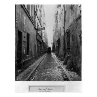 Rue des Vertus, from rue Phelippeaux, Paris Postcard