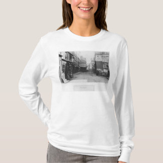 Rue Descartes, from the Rue Mouffetard, Paris T-Shirt