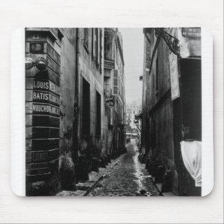 Rue du Croissant Mouse Pad