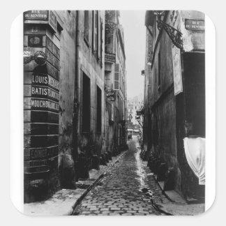 Rue du Croissant Square Sticker