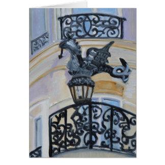 Rue du Dragon PARIS Greeting Card