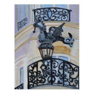 Rue du Dragon PARIS Postcard