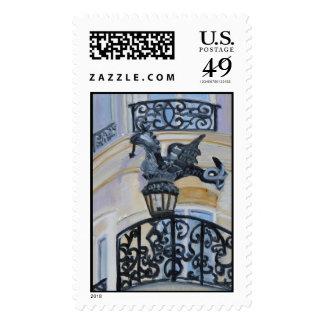Rue du Dragon PARIS Stamps