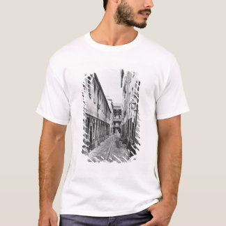 Rue du Fer-a-Moulin, Paris, 1858-78 T-Shirt