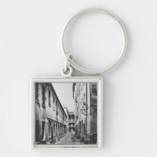 Rue du Fer-uno-Moulin, París, 1858-78 Llaveros Personalizados