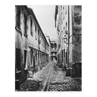 Rue du Fer-uno-Moulin, París, 1858-78 Tarjetas Postales