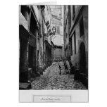 Rue du Haut Moulin, from rue de Glatigny, Paris Card