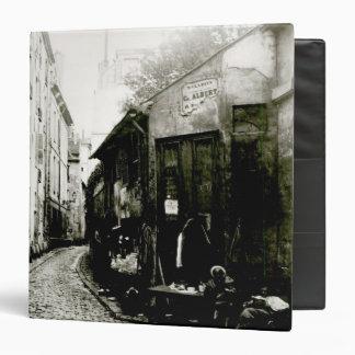 Rue du Jardinet and the cul-de-sac Binder