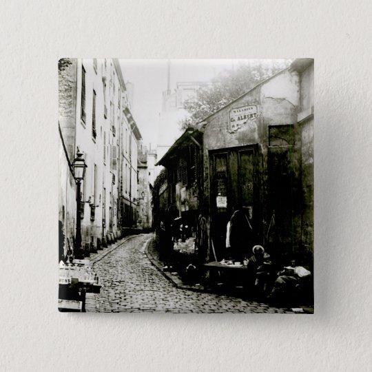 Rue du Jardinet and the cul-de-sac Button