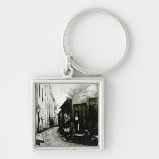 Rue du Jardinet and the cul-de-sac Keychain