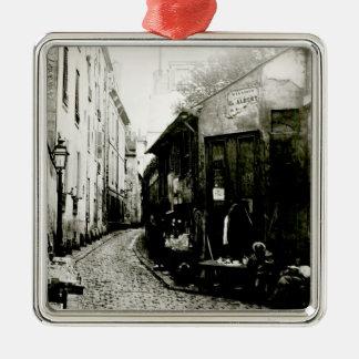 Rue du Jardinet and the cul-de-sac Metal Ornament