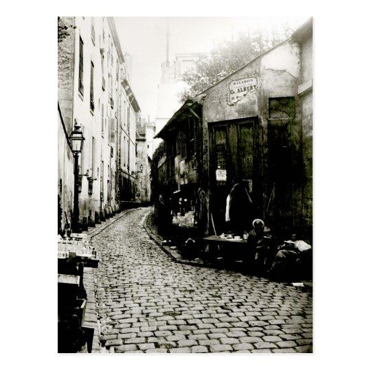Rue du Jardinet and the cul-de-sac Postcard