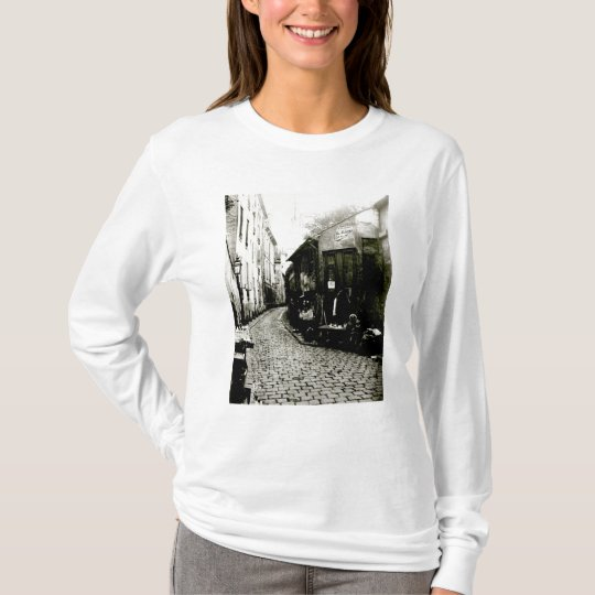 Rue du Jardinet and the cul-de-sac T-Shirt