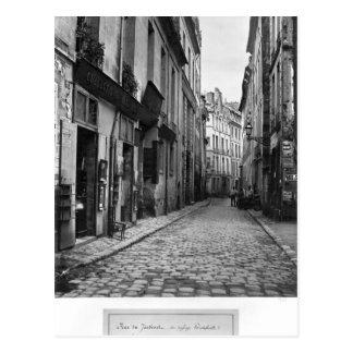 Rue du Jardinet, del paso Hautefeuille, Tarjeta Postal