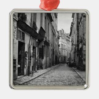 Rue du Jardinet, from passage Hautefeuille, Metal Ornament