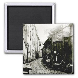 Rue du Jardinet y el callejón sin salida Imán Cuadrado