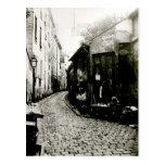 Rue du Jardinet y el callejón sin salida Tarjetas Postales