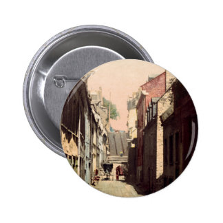 Rue du Petit-Champlain Quebec 2 Inch Round Button
