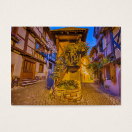 Rue du Rempart-Sud rue l'Allemand-Sud iEguisheim Business Card