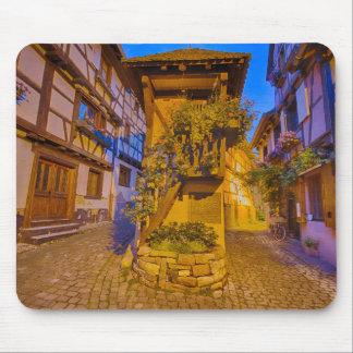 Rue du Rempart-Sud rue l'Allemand-Sud iEguisheim Mouse Pad