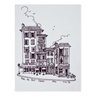 Rue du Vieux Port in Old Nice | Nice, France Postcard