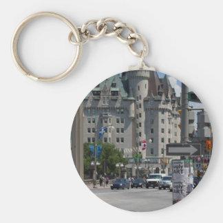 Rue ELGIN st., Montreal Keychain