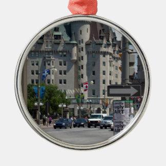 Rue ELGIN st., Montreal Metal Ornament