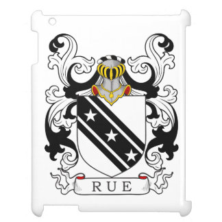 Rue Family Crest English iPad Cover