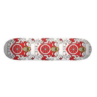 Rue Family Crest (French) Skateboard