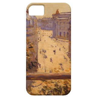 Rue Halevy, Balcony View by Gustave Caillebotte iPhone SE/5/5s Case