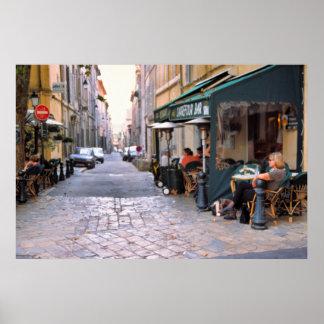 Rue Italia, Aix-en-Provence Poster