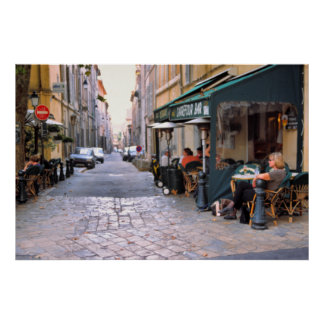 Rue Italia, Aix-en-Provence Print