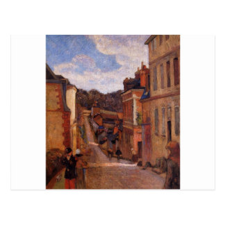 Rue Jouvenet, Rouen by Paul Gauguin Postcard