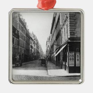 Rue Laffitte Metal Ornament