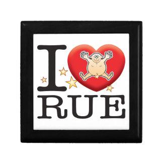 Rue Love Man Keepsake Box