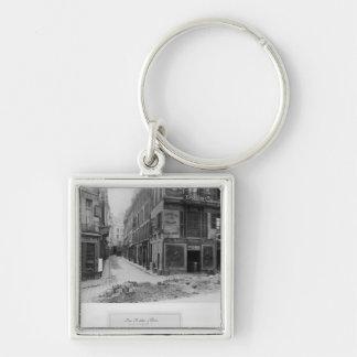 Rue Maitre Albert Paris 1858-78 Key Chains