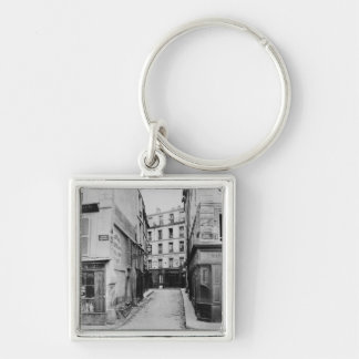 Rue Maitre Albert Paris 1858-78 Key Chain