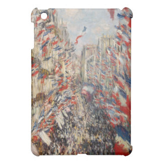 Rue Montorgueil 30th of June 1878 - Claude Monet Cover For The iPad Mini