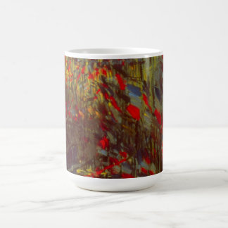 Rue Montorgueil with Flags by Claude Monet Coffee Mug