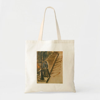 Rue Mossnier with Knife Grinder by Edouard Manet Tote Bag