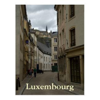 Rue Münster, Grund, Luxembourg Postcard