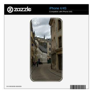 Rue Münster, Grund, Luxembourg iPhone 4 Decal