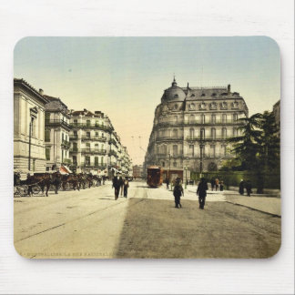 Rue Nationale, Montpelier, France classic Photochr Mouse Pad