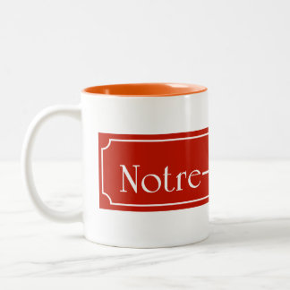 Rue Notre-Dame, Montreal Street Sign Coffee Mugs