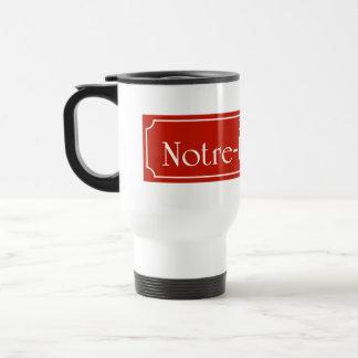 Rue Notre-Dame, Montreal Street Sign Coffee Mug