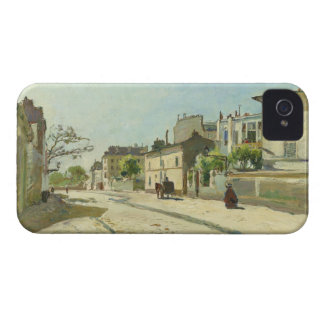 Rue Notre Dame Paris by Johan Barthold Jongkind Case-Mate iPhone 4 Case