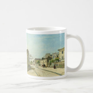 Rue Notre Dame Paris by Johan Barthold Jongkind Coffee Mug