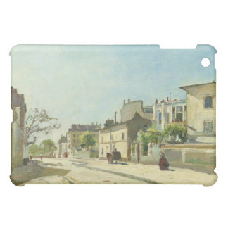 Rue Notre Dame Paris by Johan Barthold Jongkind Cover For The iPad Mini