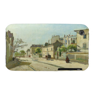 Rue Notre Dame Paris by Johan Barthold Jongkind iPhone 3 Case